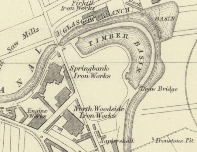 Firhill site map