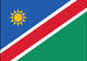 born in Namibia