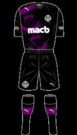 PTFC Away Kit 2012-13