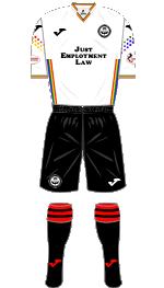 PTFC Away Kit 2019-20